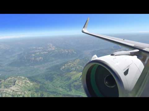 X-Plane 11 Beta Flight Experience [LIMC-EDDT] Delivery flight Brand New A320 NEO