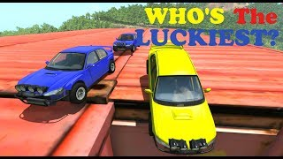 Luckiest AI Driver? - Beamng drive