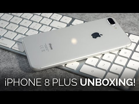 iPhone 8 Plus Unboxing & First Impressions
