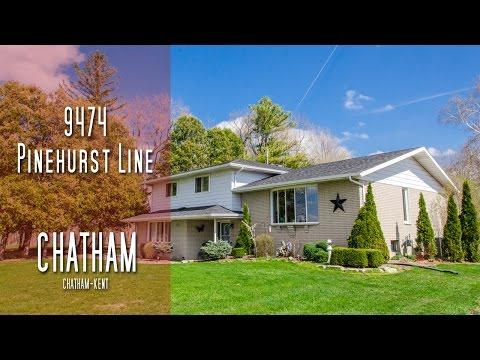 CHATHAM-KENT - 9474 Pinehurst Line - Chatham [propertyphotovideo]