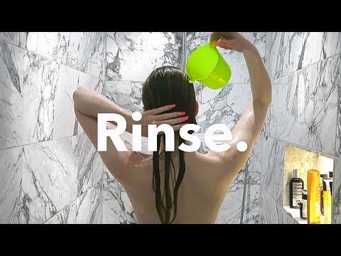 Apple Cider Vinegar Hair Rinsing. (this Works)