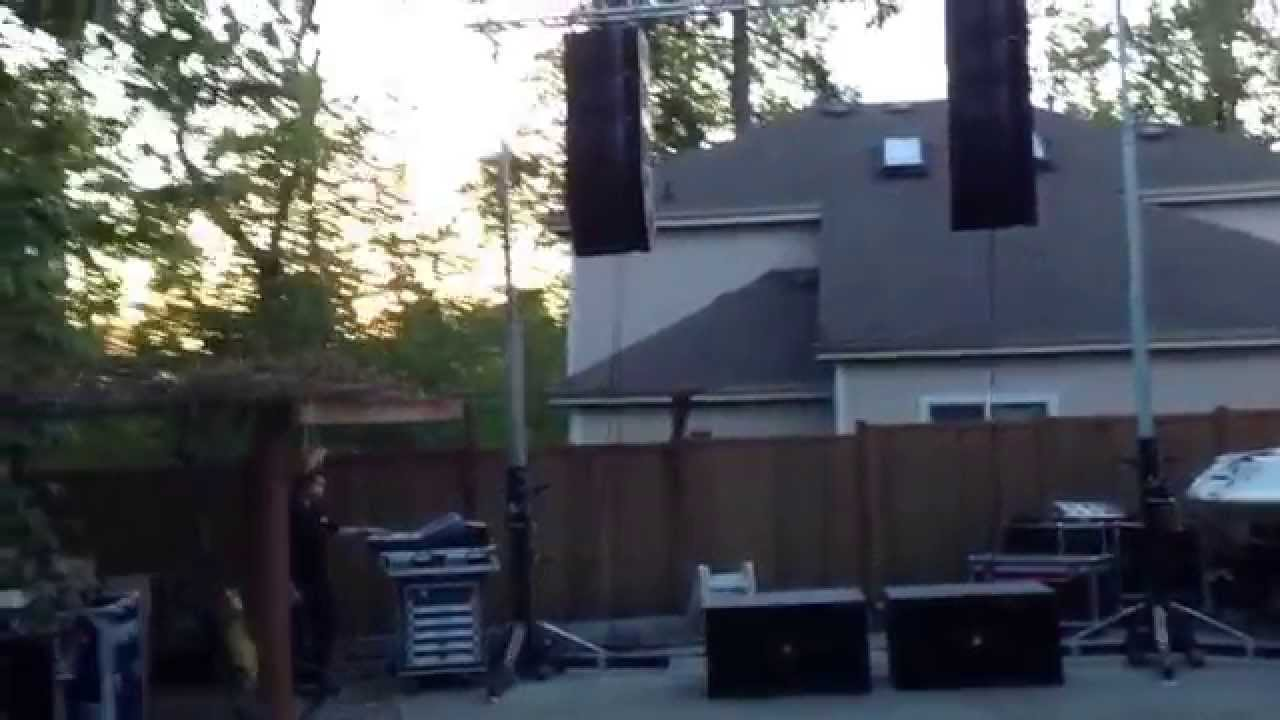 Jbl Vrx Srx Sound Check By Htsl Youtube
