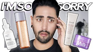 Skincare Products I LIED About PT 2 - Fenty Skin, Milk Makeup, Fresh, The Ordinary ✖  James Welsh