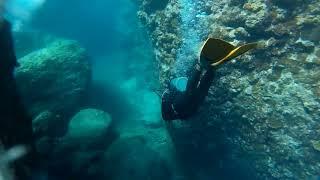ダイビングレコーダー 13 奥武島クラック