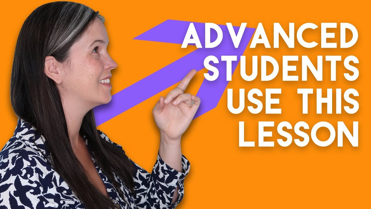 ENGLISH PRONUNCIATION   ADVANCED STUDENT LESSON   Rachel's English