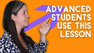 ENGLISH PRONUNCIATION | ADVANCED STUDENT LESSON | Rachel's English