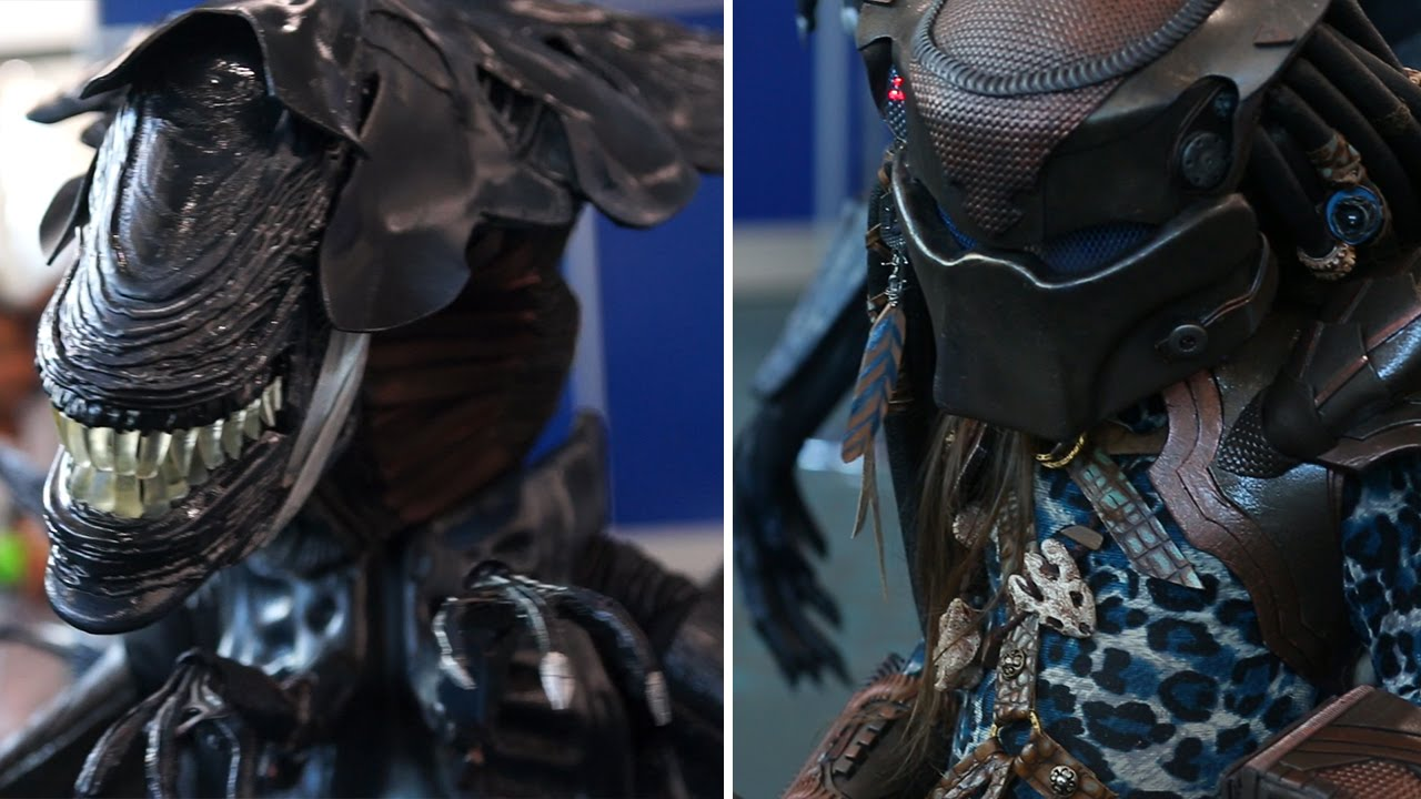 Epic  Alien  and  Predator  Cosplay at San Diego Comic-Con International - YouTube & Epic