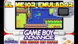 Tutorial El mejor Emulador de Gameboy Advance para Nintendo 3DS/2DS Homebrew Launcher Apps