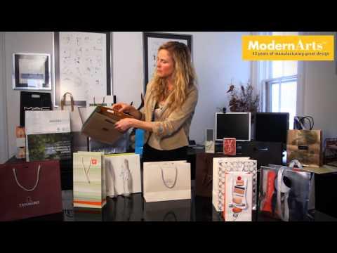 Modern Arts - European style shopping bags
