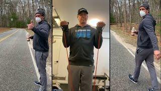 Watch Chris Cuomo Demonstrate His Post-Coronavirus Workouts