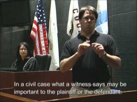Your Day in Court: An Educational Intro for Persons Who Are Deaf or Hard-of-Hearing