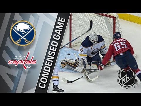 Buffalo Sabres vs Washington Capitals – Feb. 24, 2018 | Game Highlights | NHL 2017/18. Обзор