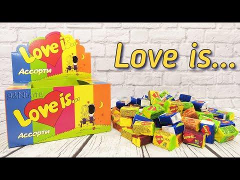 Жевательная Резинка Love Is... Собираем коллекцию вкладышей ЛАВ ИС ❤️