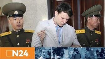 N24 Nachrichten - Nordkorea am Pranger: Tod des Studenten Otto Warmbier schlägt hohe Wellen