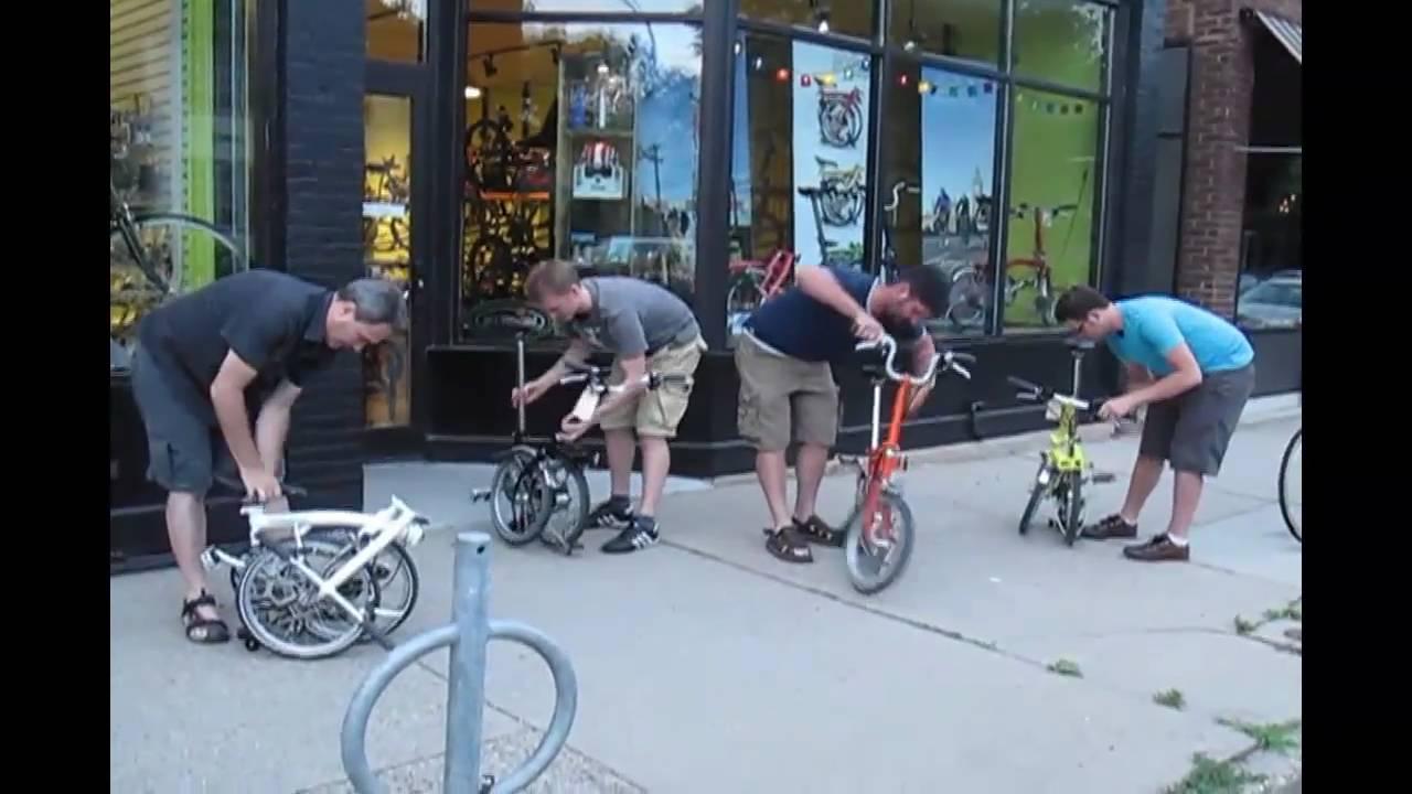 Brompton Folding Bike Competition