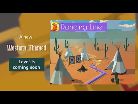 Dancing Line Western Themed level coming soon!