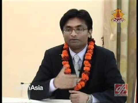 Santosh Shah, Top 99 Under 33. Airport Press Meet. NTV PLUS, 15th Oct 2011