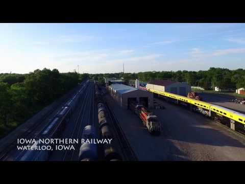 Bryant Yard - Iowa Northern Railway