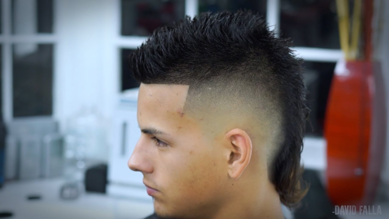 Modern Mullet Siete Hawk Hairstyle How to Faux Hawk Tutorial
