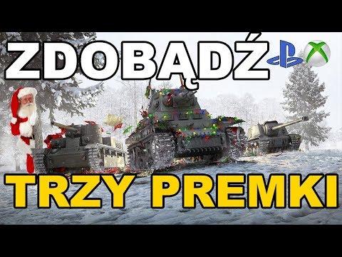News !!!! Zdobądź trzy czołgi premium za darmo World of Tanks Xbox One/Ps4
