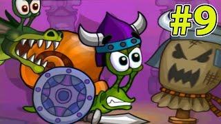 УЛИТКА БОБ #9 - Фэнтези история. Серия 2. Игра Android для детей. Несносный боб 9 на Игрули TV.