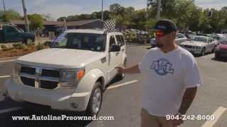 Autoline Preowned 2007 Dodge Nitro Walk Around Review Test Drive Used For Sale Jacksonville