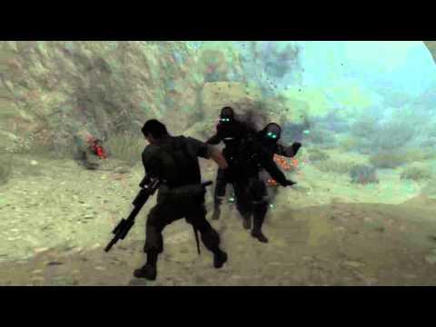 METAL GEAR SOLID V: THE PHANTOM PAIN - The Skulls - First Encounter (CQC)