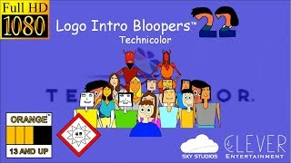 Logo Intro Bloopers 22: Technicolor