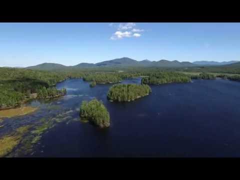 Miller Pond (Oseetah Lake) In Saranac Lake, NY