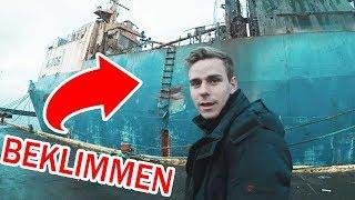 VERLATEN Russisch schip beklimmen in IJSLAND!