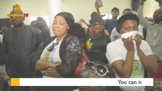 EMOTIONAL MOMENTS AT LATE MOJI OLAIYA39S BURIAL CEREMONY Nigerian Music amp Entertainment