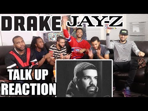 DRAKE FT JAY-Z  - TALK UP REACTION/REVIEW (SCORPION ALBUM)