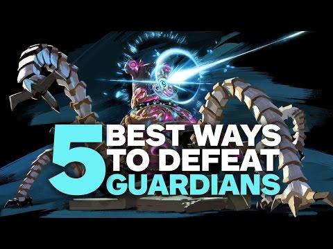 5 Best Ways To Kill Guardians In Zelda: Breath Of The Wild