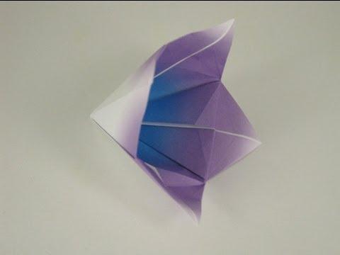 Origami Bell Flower Youtube