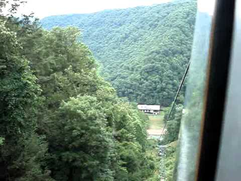 A Tram Ride to Mountain Creek Lodge--Pipestem Resort State Park