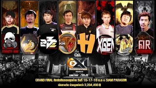 EXL 2015 Presented by UNITRY | ASUS - Grand Final @TGSBIG2015 DAY2