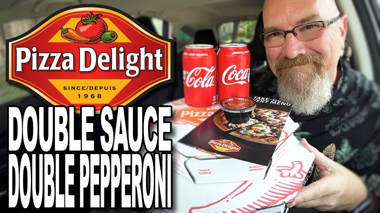 Pizza Delight Double Pepperoni & Double Sauce & $100 to the Barrie Food Bank