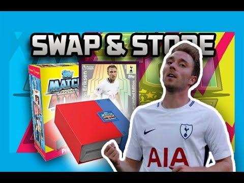SILVER ERIKSEN!!! | MATCH ATTAX 2017/2018 - SWAP AND STORE BINDER OPENING!