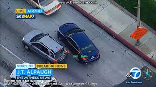 Bell Gardens Police Chase bait package thief