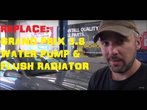Pontiac Grand Prix 3.8 – Water Pump Replacement