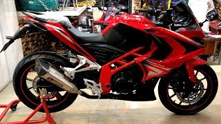 LION 250cc 2018 BY LIFAN FULL REVIEW & SOUND TEST PRICE IN PAKISTAN ON PK BIKES