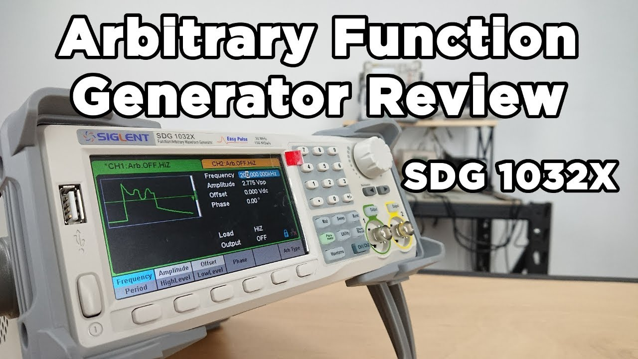 Our Review Of Siglent Sdg1032x Arbitrary Function Generator Video Related Content