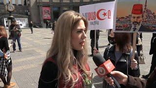 Կանայք գնում են կառավարության շենք՝ «դուրս շպրտելու ազգային ամոթի պատճառ դարձած դավաճանին»․ ուղիղ