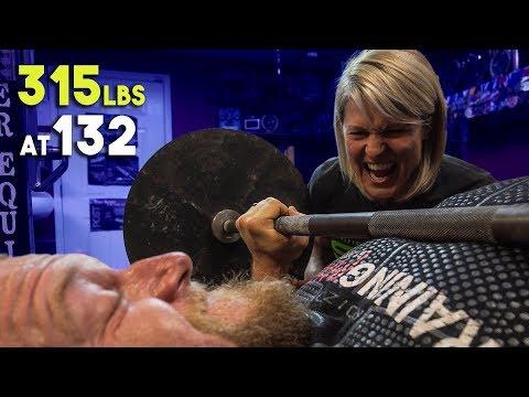World Record Bench Press with Jen Thompson