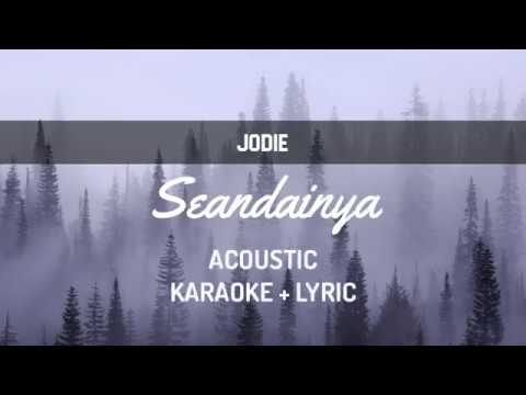 Brisia Jodie - Seandainya ( Karaoke + Lirik )