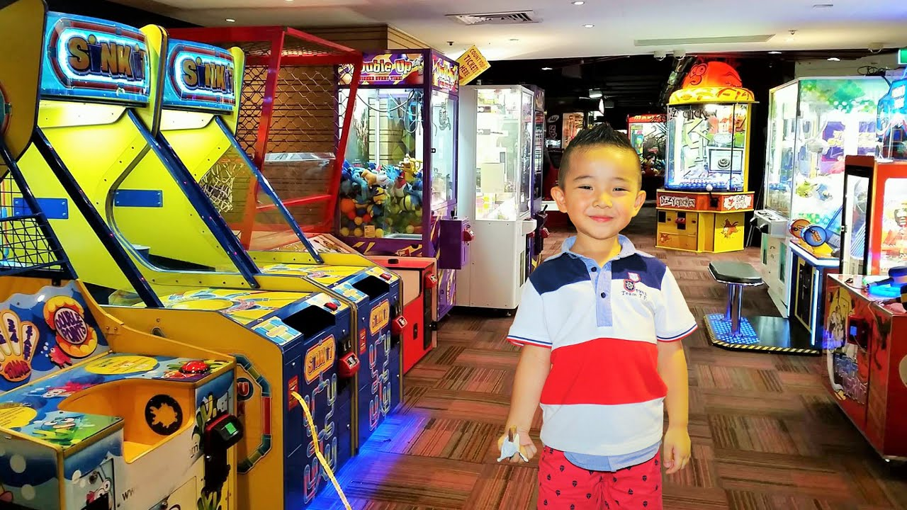 Kids Playtime Fun Arcade Games City Amusements Skill