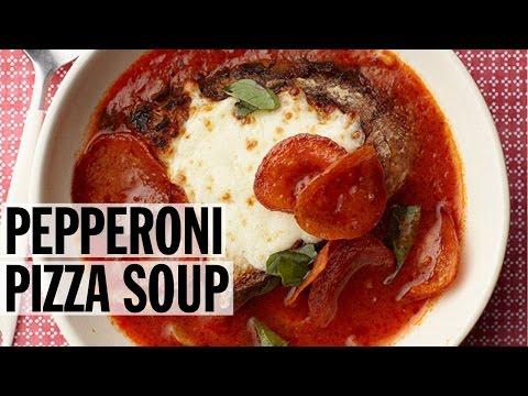 Pepperoni Pizza Soup | Food Network