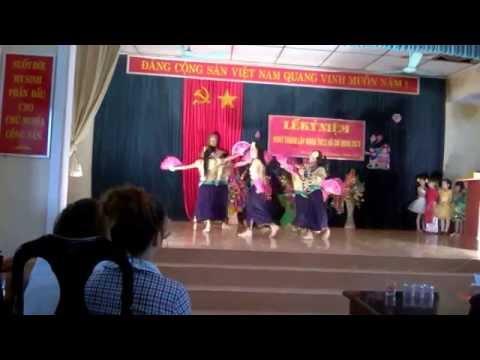 Múa Đường về Tân Trào- Tiểu học Hào Phú