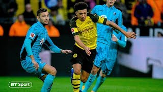 Jadon Sancho continues to tear up the Bundesliga! Amazing skills vs Freiburg | Such a talent
