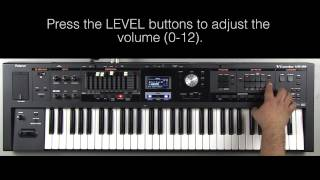 Roland VR-09 - How to Create a Layer (Organ/Brass)